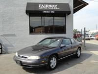 Options Included: N/AOne Owner 1996 Chevrolet Monte