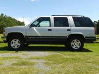 1996 Chevrolet Tahoe. $1200 down, payments $250 per