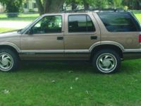 I've acquired a 1996 Blazer I'm sick of fooling with.