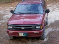 96 Chevy Blazer, recently I had the air fixed so it's