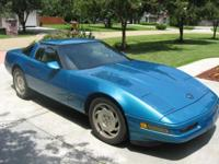 THIS IS MY 1996 CORVETTE THAT I REALLY HATE TO DEPART