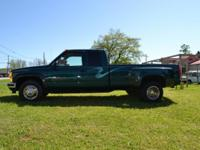 Description 1996 ext cab 4x4 dually truck with 454