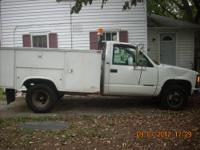 Ok this is a 1996 1 1/2 ton chevy utility dually .Its a