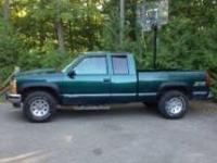 $2950.00 1996 chevy silverado z 71 extended cab leather