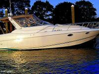 This 1996 Chris Craft 30 features twin 290 Volvo Penta