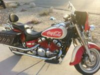 Cool Coca Cola themed paint, 88000 miles. 1300cc V4.