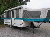 1996 Coleman Camping Trailers Bayport Spacious 12' two