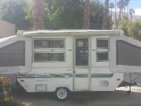 1996 Coleman Palomino Hard Sided PopUp Travel Trailer