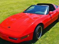 We are offering this well-maintained,1996 Corvette
