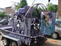 Customized 13 Airboat like others was customized built