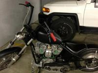One of a kind Hardtail Bobber that was built from the
