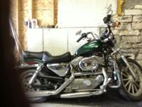 Nice Harley sportster 883 cc just 23,000 miles. I have