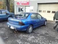 1996 Blue Dodge Neon Very well taken   Motor:  8,000