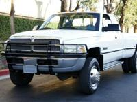 Up for sale is a strong and clean 1996 DODGE RAM 3500