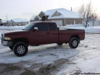 '96 Dodge 4x4 3/4 ton super cab with one ton