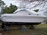 The Donzi 275 LXC Express is a great family cruiser