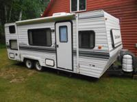 We have a 1996 Dutchmen 22ft Camper-Good condition.