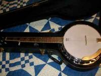 master built banjo like new and case. like to trade for