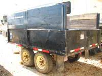 1996 ez dump trailor 8x10 works excellent, barn doors