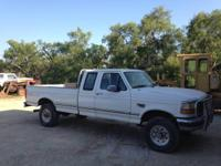96 F250 supercab 4x4 long bed, 7.3 diesel handbook