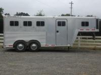 Used 1996 Featherlite 3 horse slant trailer in great