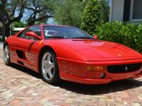 1996 Ferrari Berlinetta.  I am the second owner and