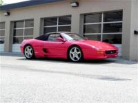This 1996 Ferrari F355 2dr Spider Convertible features