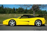 1996 Ferrari F355 Spyder A beautifully-kept and