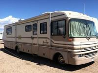 1996 Fleetwood Bounder 34J-454 Gas Chevy Motor with