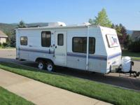 Clean 1996 Terry 24' Trailer. Sleeps 6-7, rear bed,