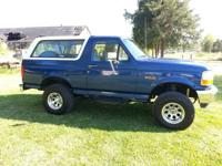1996 Ford Bronco 220k miles reconstructed trans, Cold