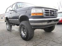1996 Ford Bronco for sale, no rust! Arkansas truck, you