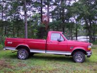 1996 Ford F150 4X4 Patriot Edition, Second owner. 5.0