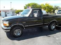 Options Included: N/A1996 FORD F-150 XLT. REG/CAB