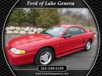 Exterior Color: red, Body: Coupe, Engine: 3.8L V6 12V