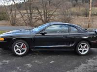 I am selling my 1996 Mustang Cobra. This car is Black