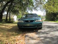 I'm selling my Green 1996 Ford Mustang. GT Model,