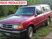 1996 Ford Ranger XL FOR SALE!, 6 cylinder, Manual