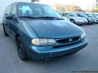 1996 FORD WINDSTAR GL 3.8L V6 ONE OWNER!!! CLEAN