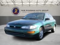 New Arrival! This 1996 Geo Prizm Includes * Please let