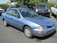 Options Included: N/A1996 GEO PRIZM. RUNS AND DRIVES