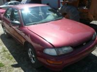 Selling in components ONLY:. '96 Geo Prizm Wine red.