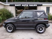 Options Included: N/A1996 Geo Tracker 4x4 - Clean