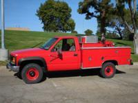 1996 GMC 3500 4x4 gmc 97' GMC 3500 4x4 Pumper Truck 6.5