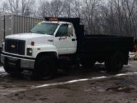 Dump Truck 1996 GMC C6500 dump truck. 1996 Chipper Dump