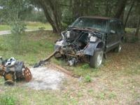 1996 S15/S10 GMC/CHEVY 4 DOOR  BLAZER FOR PARTS. a