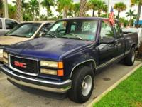 Options Included: N/A1996 GMC SIERRA 1500 EXTENDED CAB