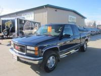 Options Included: N/A1996 GMC SIERRA 4X4, EXTENDED CAB,