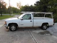 1996 GMC Sierra SL 1500 work truck. Automatic
