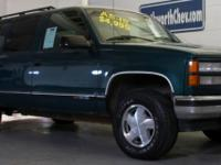 Options Included: N/AAS-IS 1996 8 PASSENGER SUBURBAN